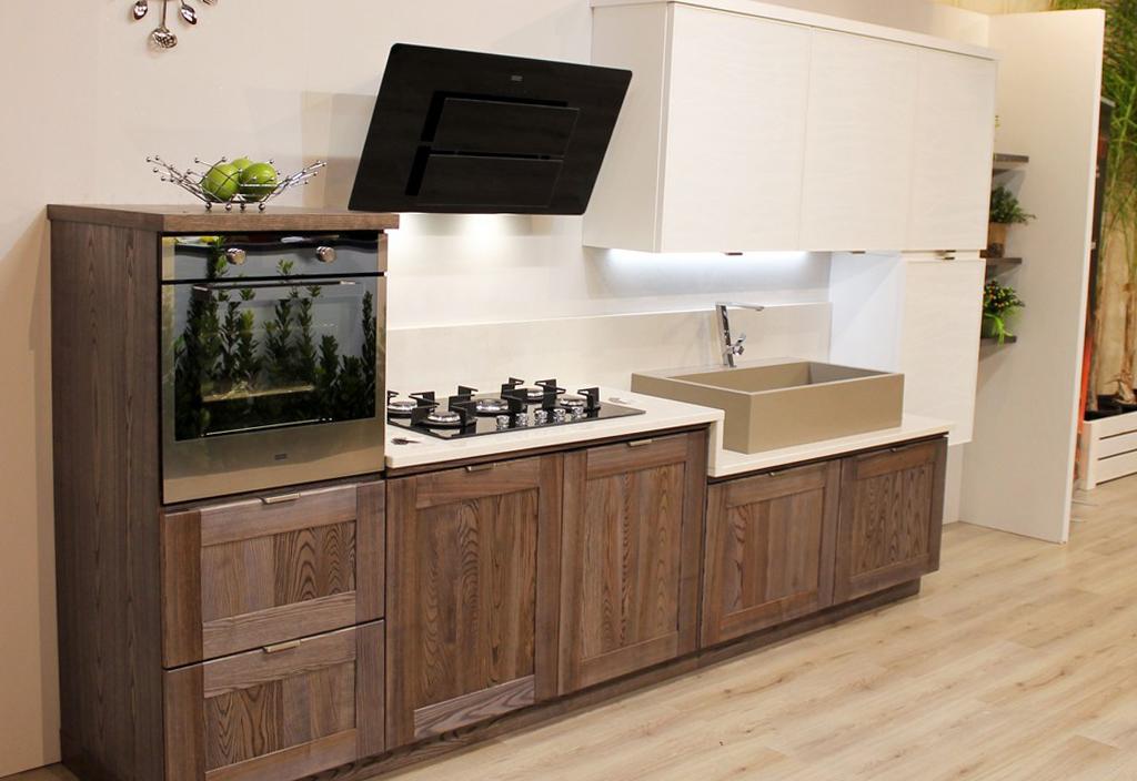cucina legno massello bramato